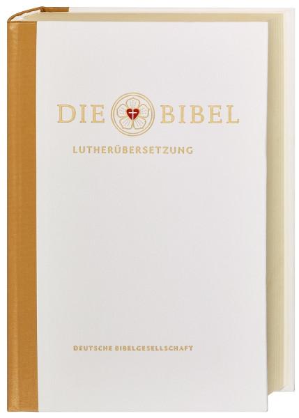 Lutherbibel - Traubibel, weiß