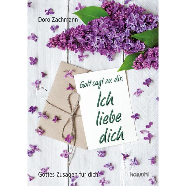 lila Flieder mit Briefumschläge