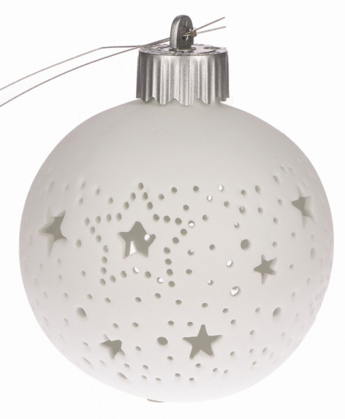 LichterZeit 'Kleine Sterne' weiß