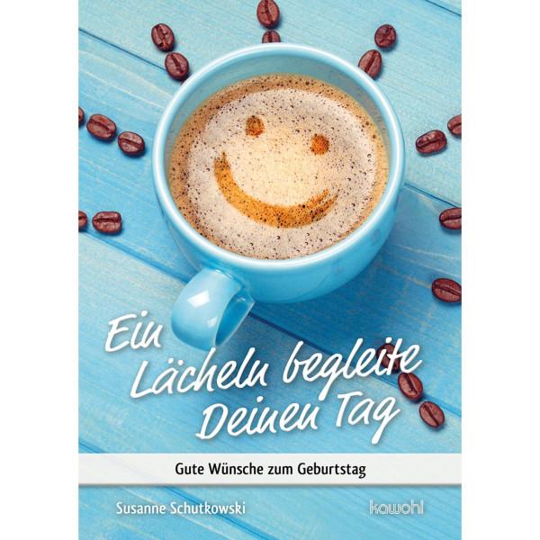 Kaffeetasse mit lächelndem Gesicht