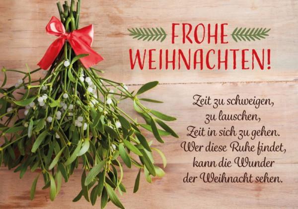 Faltkarte 'Frohe Weihnachten'