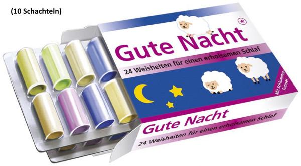 Gute Nacht (10 Schachteln)