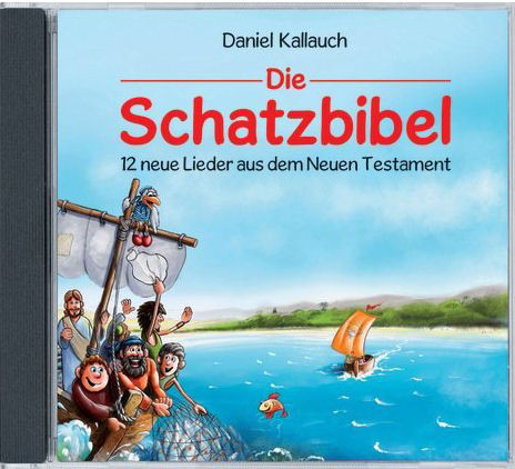 Die Schatzbibel - Lieder NT (CD)