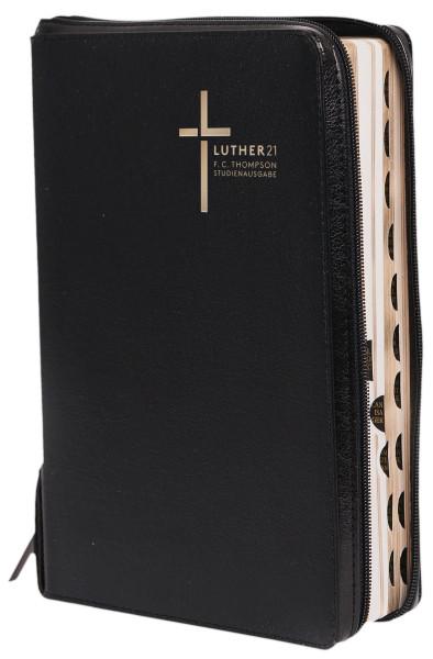 Luther21 Thompson Studienbibel schwarz