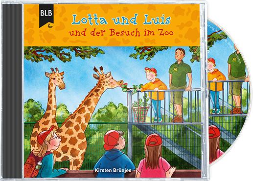 Lotta und Luis und der Besuch im Zoo (CD)