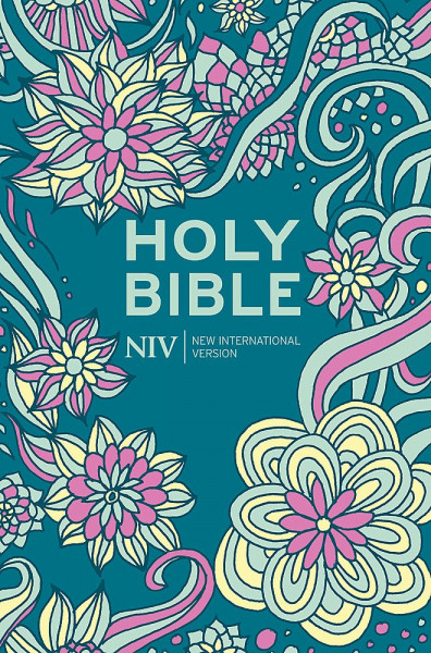 NIV Holy Bible - Pocket Bible - Floral