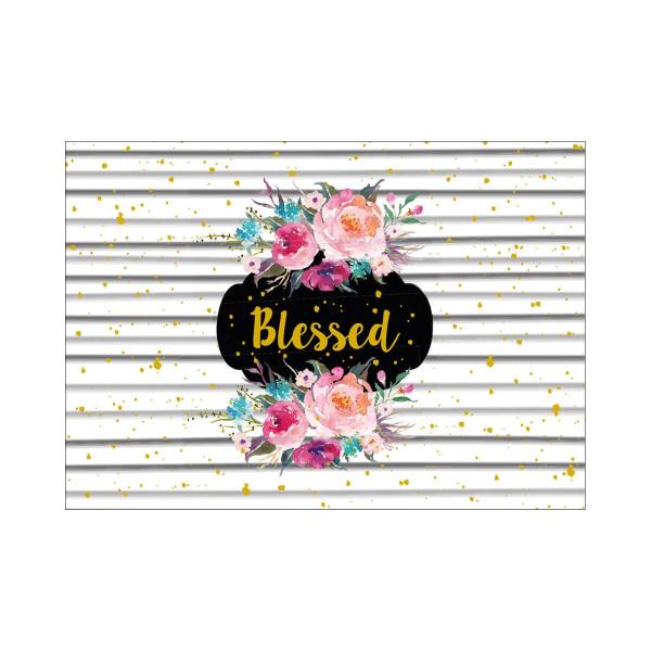Postkarte 'Blessed'