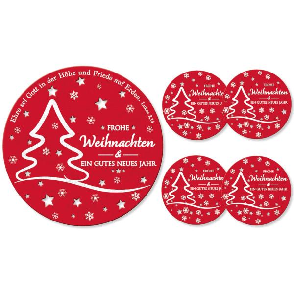 <b>Weihnachtsbaum, Sterne, Schneeflocken</b>