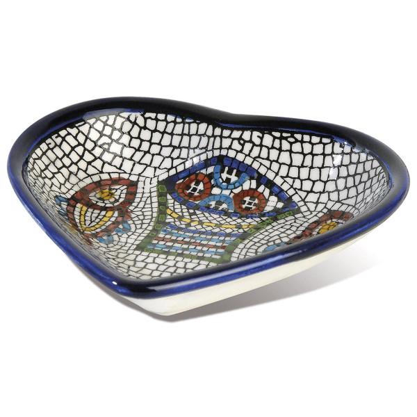 """<b>Mosaik """"Brot und Fische"""" </b>"""