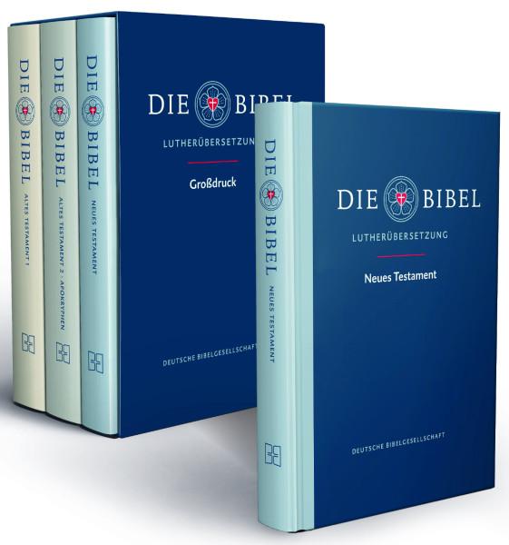 Lutherbibel - Großdruck NT + AT (3 Bände)
