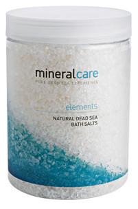 Pures Badesalz vom Toten Meer - Mineral Care Elements