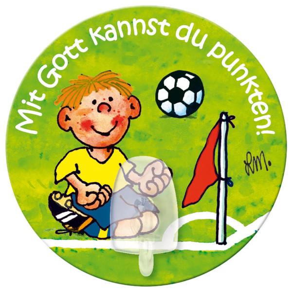 Fußball / Junge / Fahne