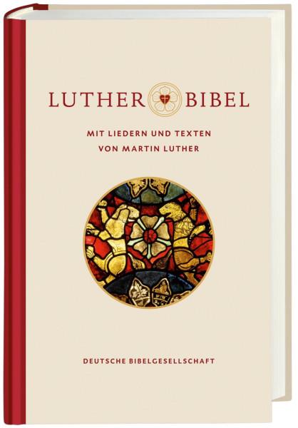 Lutherbibel mit Liedern und Texten von Martin Luther
