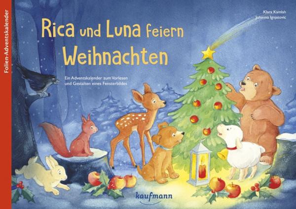 Rica und Luna feiern Weihnachten