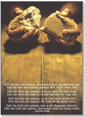 Hände / Brot