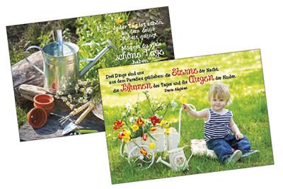 Spar-Paket: Gartengruß