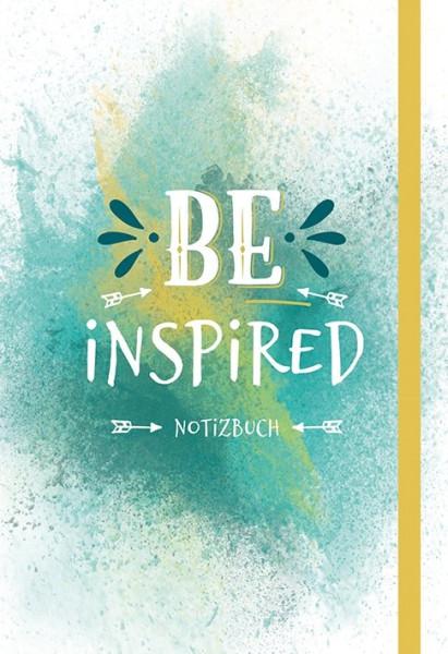 BE INSPIRED - Notizbuch
