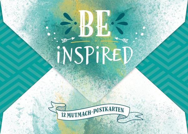 BE INSPIRED - Postkarten-Set
