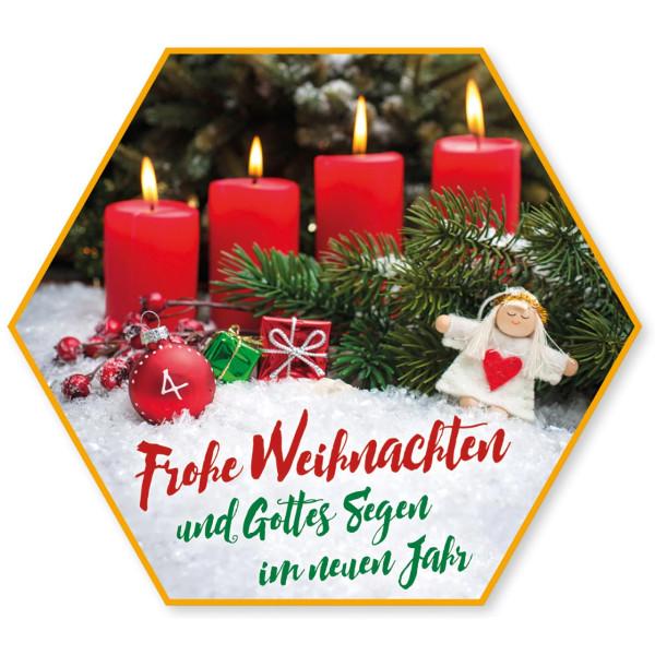 Adventskerzen Kerzen Engel Schnee Geschenk