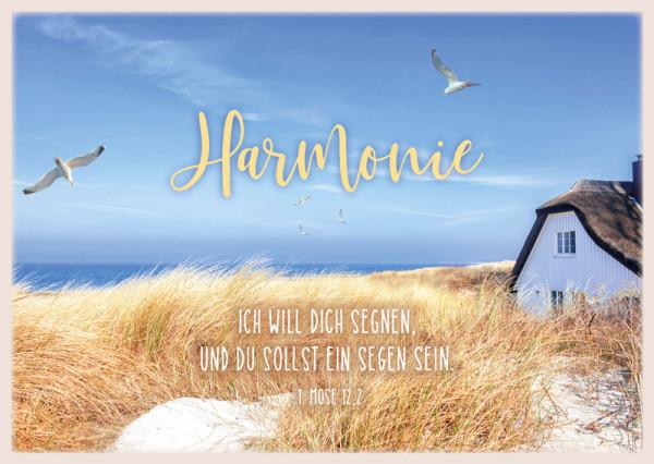 Postkarte 'Harmonie' 12 Ex.