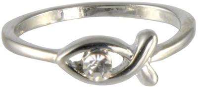Ring mit Fischmotiv und Stein