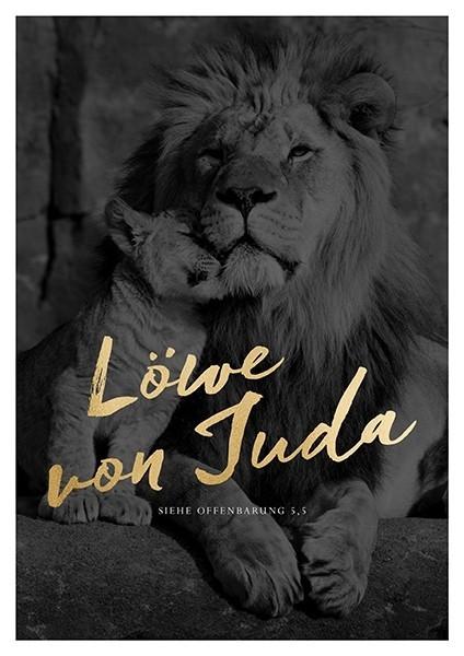 Poster A3 'Löwe von Juda'