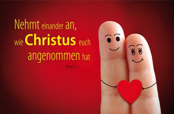 Poster A2 'Nehmt einander an'