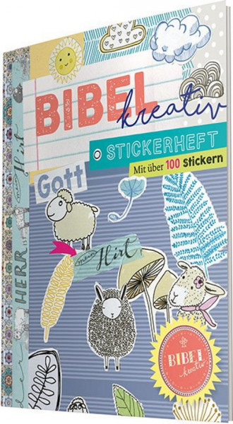 Bibel kreativ - Stickerheft 'Hirt'