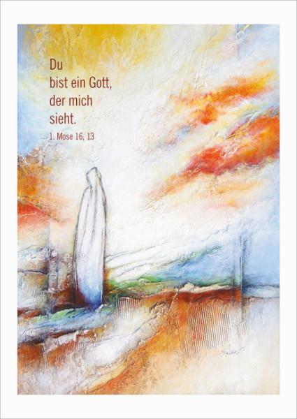 Poster/Kunstblatt 40x60 'Wer zu mir kommt'