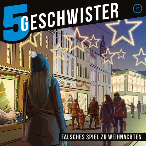 Falsches Spiel zu Weihnachten [21] (CD)